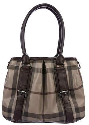 ddf54f579ede Pre-Owned at TheRealReal · Burberry Smoked Check Northfield Tote