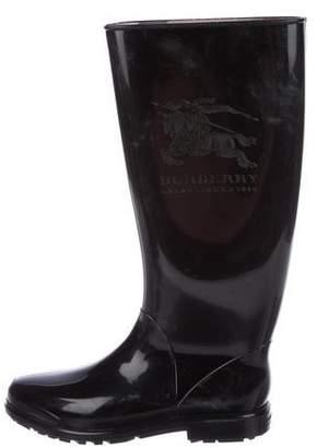 Burberry Horseferry Rain Boots