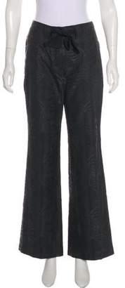 Chloé Patterned Mid-Rise Pants