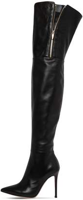 Gianvito Rossi 105MM OVER-THE-KNEE LEATHER BOOTS