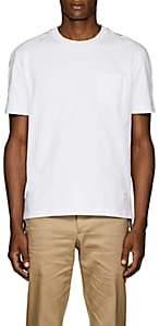 Thom Browne Men's Striped Cotton T-Shirt - White
