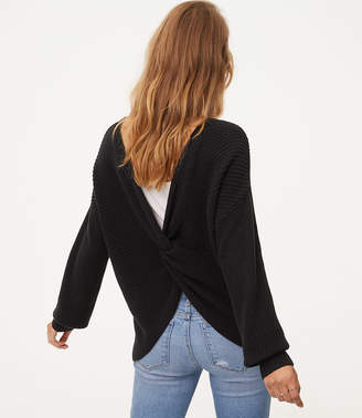 Twist Back Sweater $59.50 thestylecure.com