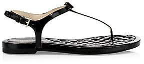 Cole Haan Women's Tali Mini Bow Patent Leather Sandals