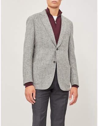 Richard James Tailored-fit wool-tweed jacket