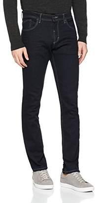 Tom Tailor Men's Rinsed 5 Pocket Slim Jeans, Blue (Rinsed Denim 1100), (Manufacturer Size: 33)