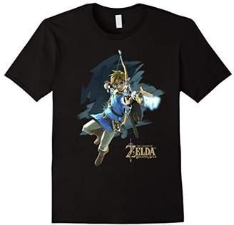Nintendo Zelda Breath of the Wild Link Jump Shot Aim T-Shirt
