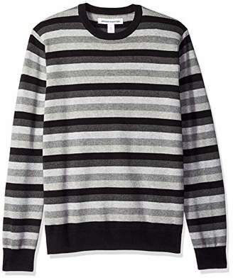 Amazon Essentials Men's Standard Crewneck Stripe Sweater