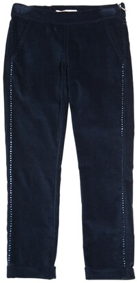 Miss Blumarine Embellished Velvet Pants