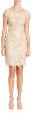 Laundry by Shelli Segal Cutout Lace Cocktail Dress $295 thestylecure.com