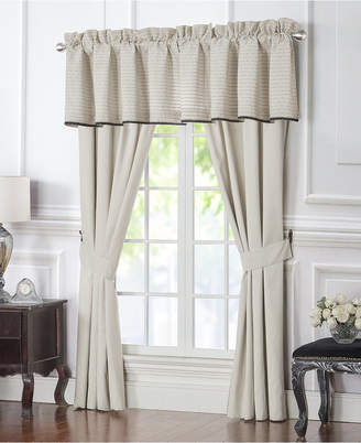 "Waterford Vienna Tailored 55"" x 18"" Window Valance Bedding"