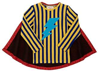 Siaomimi Superhero T-Shirt With Star Cape