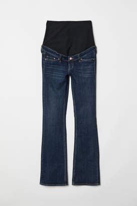 H&M MAMA Bootcut Jeans - Blue