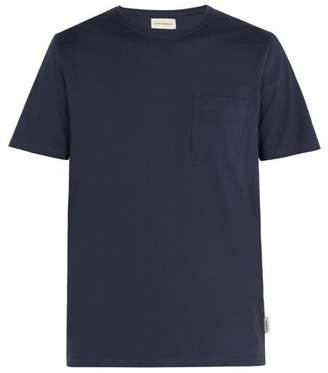 Oliver Spencer Ollie Cotton Jersey T Shirt - Mens - Navy