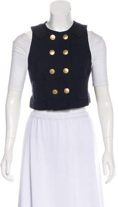 3.1 Phillip Lim Woven Double-Breasted Vest
