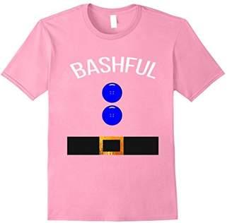 Funny Bashful Costume T Shirt Gift Novelty