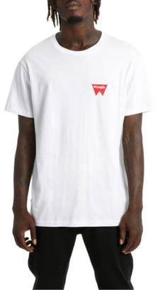 Wrangler NEW Fangs Hit Tee White