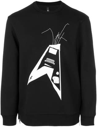 Neil Barrett Thunderbolt World Tour sweatshirt