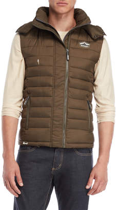 Superdry Fuji Hooded Puffer Vest
