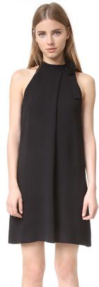 Theory Espere Halter Dress $315 thestylecure.com