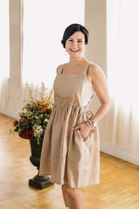 Femme Boutique Boston Linen Apron Dress