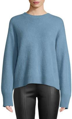 Vince Boxy Cashmere Crewneck Sweater