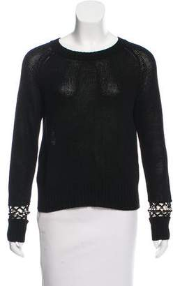 A.L.C. Embellished Scoop Neck Sweater w/ Tags
