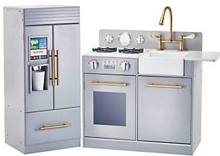 Teamson Kids Contemporary Little Chef Stove & R efrigerator