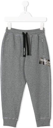 Dolce & Gabbana logo stamped lounge trousers