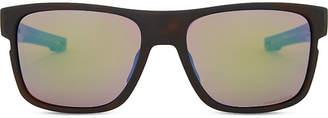 Oakley Crossrange PrizmTM Shallow Water polarised square-frame sunglasses