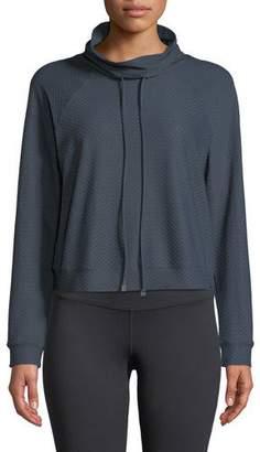 Koral Activewear Pump Netz Raglan Mesh Pullover