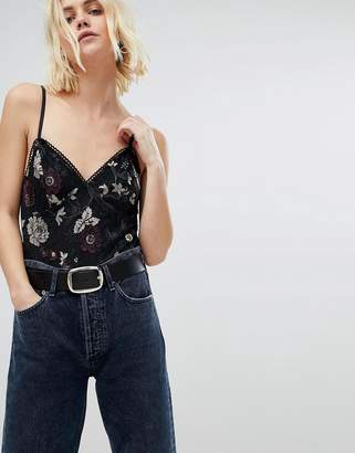 New Look Floral Cami Body