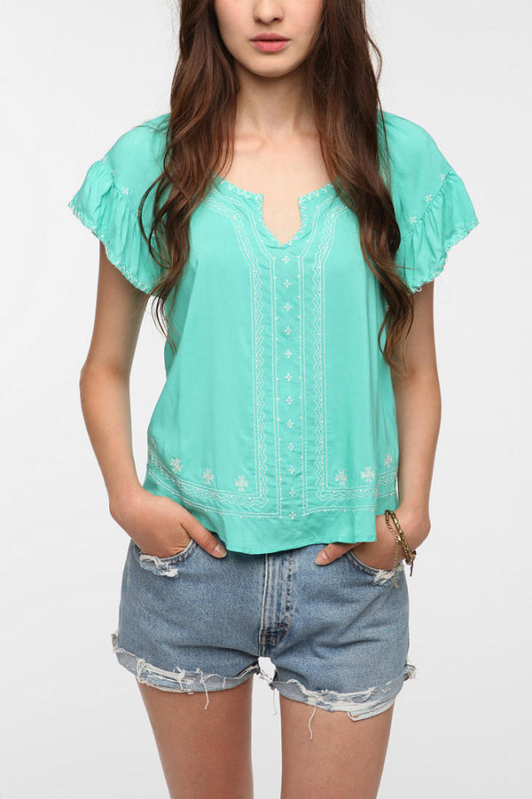 Chandi & Lia Embroidered Blouse