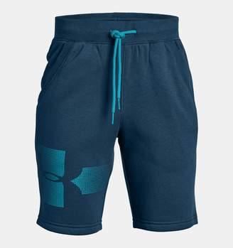 Under Armour Boys' UA Rival Fleece Shorts - Graphic