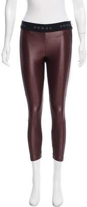 Koral Mesh-Accented Mid-Rise Leggings w/ Tags
