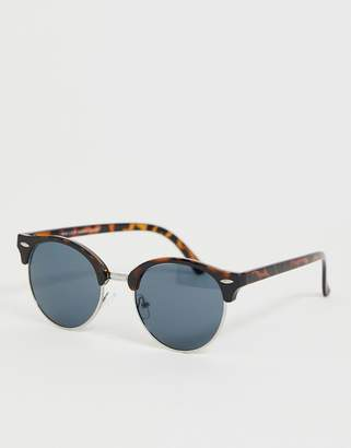 f6175ab004 New Look round sunglasses in brown tortoise shell