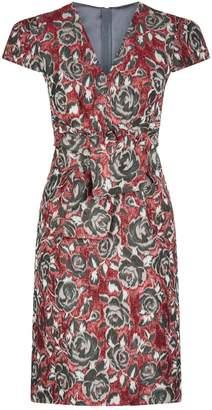 Paule Ka Jacquard Dress