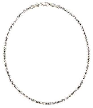 """Konstantino Men's Sterling Silver Chain Necklace, 24"""""""