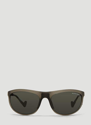 District Vision Takeyoshi Tinted Sunglasses in Grey