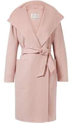 Max Mara Mozart Wool And Cashmere-blend Hooded Coat