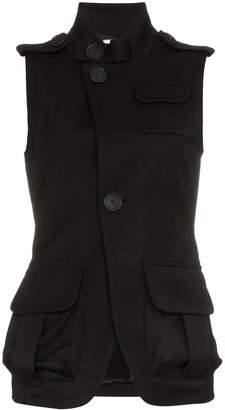 Wales Bonner Sleeveless Military Jacket