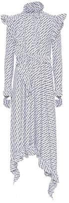 Vetements Printed stretch-jersey dress