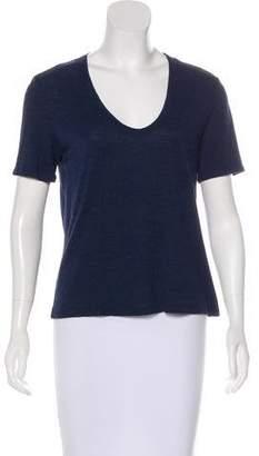 Alexander Wang Jersey Short Sleeve Top