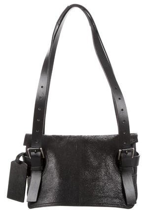 Balenciaga Balenciaga Suede Flap Bag