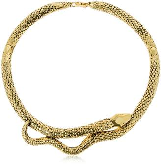 Aurelie Bidermann Tao Collier Serpent Necklace