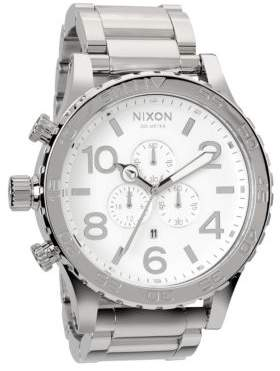 Nixon Men's Stainless Steel Chronograph Watch - Stainless Steel