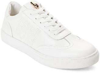 Class Roberto Cavalli White Lace-Up Sneakers