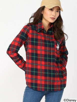 CECIL McBEE (セシル マクビー) - CECIL McBEE チェックシャツ/Disney collection セシル マクビー シャツ/ブラウス