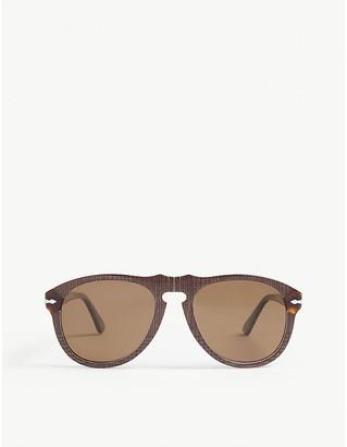 Persol PO0649 Terra di Siena aviator sunglasses