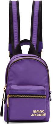 Marc Jacobs Purple Mini Backpack