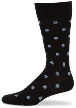 Saks Fifth Avenue COLLECTION Owl Crew Socks